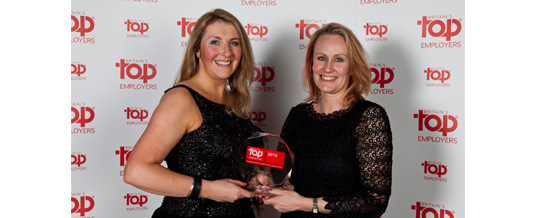 ERIKS UK wins Britain's Top Employer Award