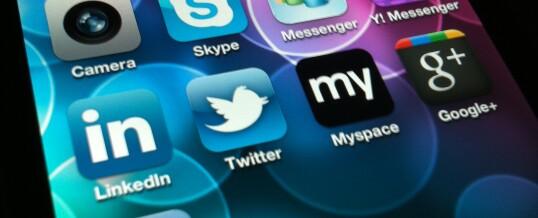 Socialising on Social Media