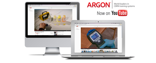 Argon showcases innovative CBRN simulation tools on YouTube